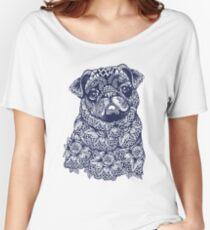 Mandala of Pug Women's Relaxed Fit T-Shirt