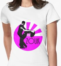 lets dance zouk Women's Fitted T-Shirt