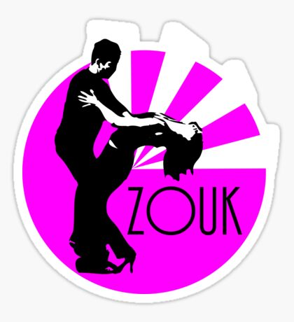 lets dance zouk Sticker