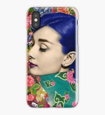 Audrey Piercing iPhone Case/Skin