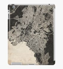 athens map ink lines iPad Case/Skin