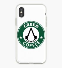 Creed Coffe iPhone-Hülle & Cover