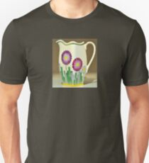 Art Deco Flowers Unisex T-Shirt