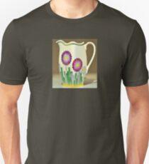 Art Deco Flowers Unisex T-Shirt
