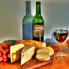 Wine and Cheese by Johnny Furlotte