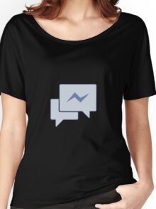 Facebook Chat Messages - Messenger  Women's Relaxed Fit T-Shirt