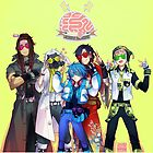 DRAMAtical Murder - Five Guys by marburusu