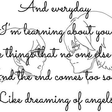 """Angels"" by the xx by DazedPurple"