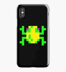 Frogger Pixel Frog iPhone Case