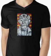 Herr Miyagi T-Shirt mit V-Ausschnitt für Männer