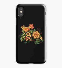 Khokhloma bird iPhone Case/Skin