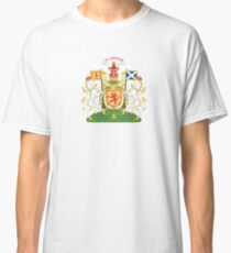 Royal Coat of Arms of Scotland  Classic T-Shirt