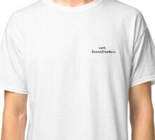 "Louis Tomlinson ""Not HeartBroken"" Design Classic T-Shirt"