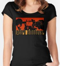 Pedro Almodovar in high heels Women's Fitted Scoop T-Shirt