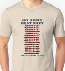 Go Army - Beat Navy - Please win one in 2016 T-Shirt