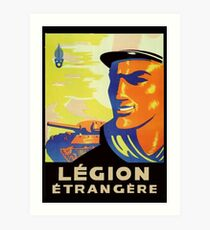 Legion Recruiting Poster Art Print
