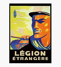 Legion Recruiting Poster Photographic Print