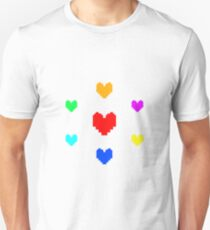 Undertale - Seven Souls T-Shirt