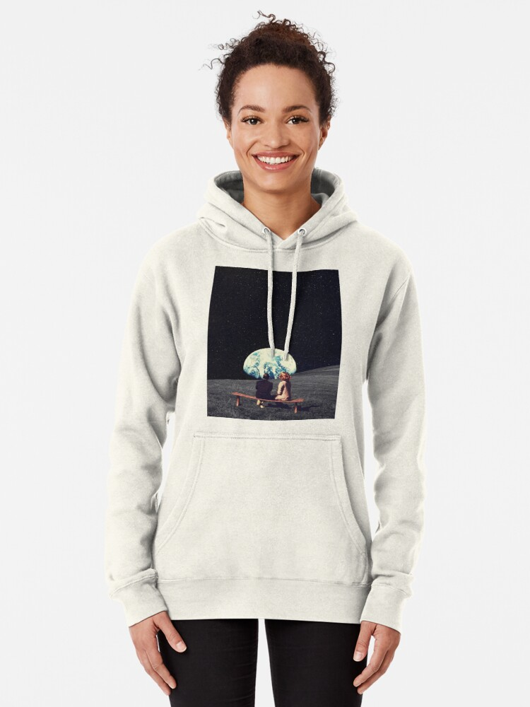 Alternate view of We Used To Live There Pullover Hoodie