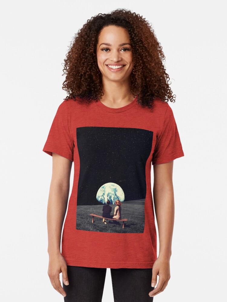 Alternative Ansicht von Wir lebten dort Vintage T-Shirt