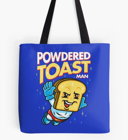 Super Toast Man Tote Bag