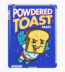 Super Toast Man iPad Case/Skin