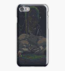 Pixel Sif in Darkroot Garden iPhone Case/Skin