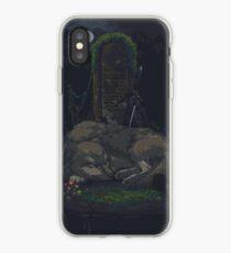 Pixel Sif in Darkroot Garden iPhone Case