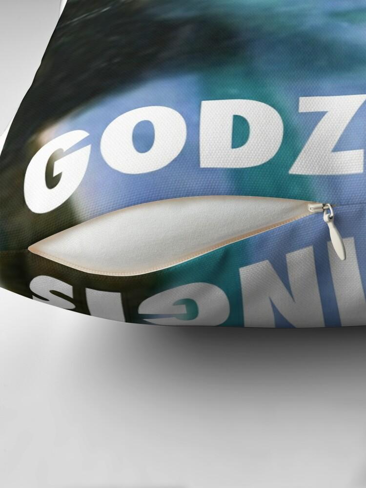 Alternative Ansicht von KRISTAPS PORZINGIS (GODZINGIS) KNICKS Dekokissen