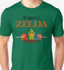The Legend of Zelda Ocarina of Time 8 bit T-Shirt