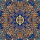Gold Decorative Kaleidoscope by fantasytripp