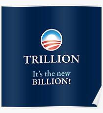 PRES44 NEW BILLION Poster