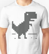 Unable to connect to the internet - Dinosaur Unisex T-Shirt