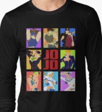 JoJo's Bizarre Adventure - Heroes Long Sleeve T-Shirt