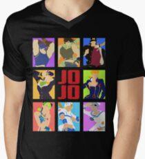 JoJo's Bizarre Adventure - Heroes Men's V-Neck T-Shirt