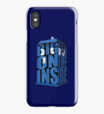 Its Bigger on the Inside!! iPhone Case
