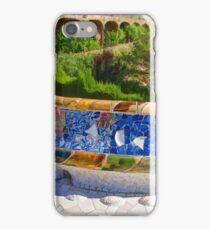 Gaudi's Park Guell - Impressions Of Barcelona iPhone Case/Skin