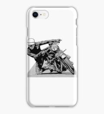1940s Vintage Motorcycle Racer Graphic iPhone Case/Skin