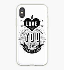 Love Is The Bridge iPhone Case