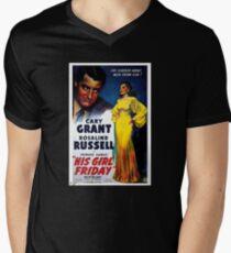Movie Poster Merchandise Men's V-Neck T-Shirt