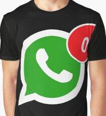 WhatsApp Messages Graphic T-Shirt