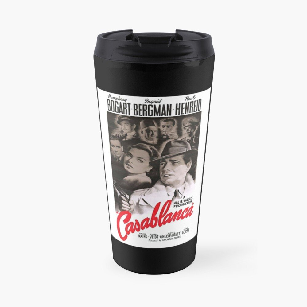 Movie Poster Merchandise Travel Mug