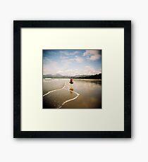 Four Mile Beach Framed Print