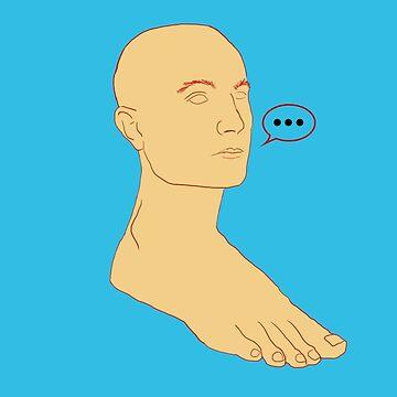 Foot man by skyflamable
