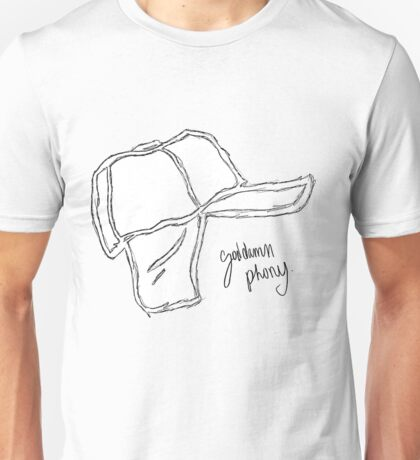 Who Wrote Holden Caulfield? Unisex T-Shirt