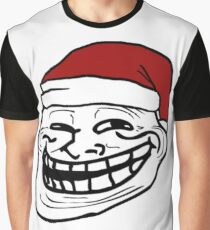 Christmas Troll Face - Meme Graphic T-Shirt