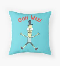 Ooh Wee! Mr. Poopy Butthole Throw Pillow