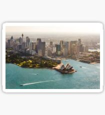 Sydney from the Sky Sticker