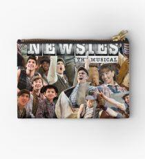 Newsies on Broadway photo collage Studio Pouch