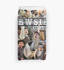 Newsies on Broadway photo collage Duvet Cover